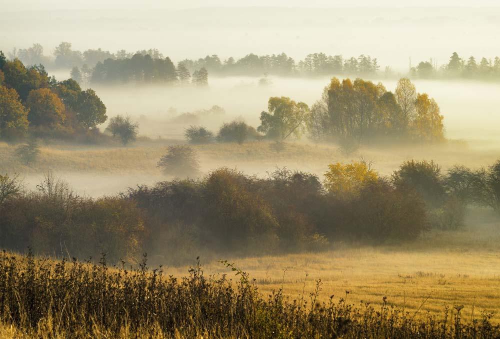 noclegi w ustroniu jesienią